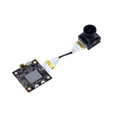 Hawkeye Firefly Split 4K 160 graden HD Opname DVR Mini FPV Camera WDR Single Board Ingebouwde microfoon Low Latency TV-uitgang voor RC Drone Airplane
