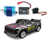UDIRC 1601 sem escovas 60km / h atualizado RTR 1/16 2.4G 4WD RC Car LED brinquedos para veículos leves de deriva