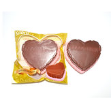 Kiibru Squishy Jumbo Chocolate Heart Cake 12cm Licensed Slow Rising Original Packaging Collection Gift Decor