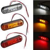LED Side Marker Indicator Light Waterproof For 12V 24V Trailer Truck Bus Lorry Van