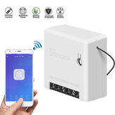 SONOFF Mini Switch inteligente de duas vias 10A AC100-240V Funciona com o Amazon Alexa O Assistente Home do Google Nest suporta o modo DIY Permite que o firmware seja Flash