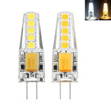G4 2W 2835 Dimmable 10 LED Blanc chaud Blanc LED Ampoule décorative AC12V