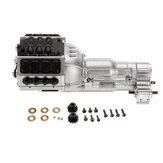 RBR/C 1:10 Double Motor Three Speed Transmission For RC Car Parts Crawler Unassembled Kit SCX10