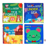 Children Early Education Books Cloth Baby Early Learning Intelligence Development Cognize Fabric Book Educational Toys