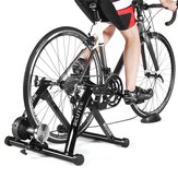 Bicycle Indoor Exercise Trainer Silent MTB Road Bike Resistance Fitness Station Cycling Folding Training Rack
