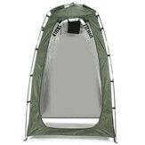 Tenda instantânea portátil com porta de zíper Chuveiro de acampamento Toalete Curativo ao ar livre Mudando casa de pesca