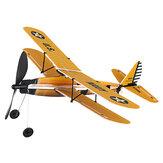 STEM ZT Model 18 cali STEARMAN Model samolotu z napędem gumowym