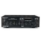 1200W 110 V / 220 V bluetooth Dual Channel Karaoke Mic Input Digital Reverb Home Stereo Amplifier Dukungan USB SD FM AUX Input