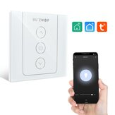 BlitzWolf®BW-SS11 Wi-Fi SmartDimmerLight Switch Touch Wall Switch Brightness Adjustment Time Schedule APP Remote Control Voice Control Works With Amazon Alexa and Google Assistant