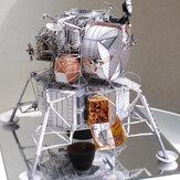 Puzzle 3D Modello di carta Giocattolo fai da te Stazione spaziale Assemblaggio Giocattolo Ragazzi Compleanno Regalo di Natale per bambini Forniture di artigianato fai da te