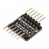 RobotDyn® 4 canaux convertisseur de niveau logique bidirectionnel haute vitesse 3.3V-5V