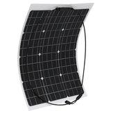 50W 18V Monocrystalline Flexible ETFE Solar Panel For Home Car Boat