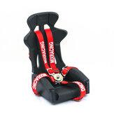 1/10 RC Car Inner Seat Strap Safety Belt Decoration For Axial Scx10 RC Car Parts