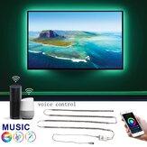 Kit de luz de fundo de TV USB para APP de Wifi inteligente de 0,5 milhões * 4 com iluminação LED polarizada Alexa Google Home 5050