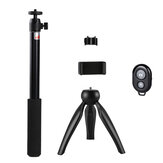 Wireless Selfie Stick Tripod with bluetooth Control Camera Stand Holder Universal Clip for iPhone Android Mobile Phone