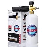 MATCC調整可能な雪のフォームランス洗濯機の石鹸1Lのボトル高圧洗濯機の銃の泡キャノン