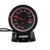 Jauge de température de l'eau de voiture de 60 mm avec capteur Face noire 20-120 Celsius Temp. Mètre de température