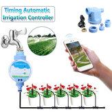 Elektronische WiFi-Fernbedienung Automatische Gartenbewässerung Wassertimer Intelligente Blumen Bewässerung Gartenbewässerungssystem