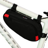 BIKIGHT Polyester Noir Bicycle Front Tube Triangle Storage Pouch Frame Bag