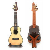 Portable Wooden Foldable Holder Stand Suitable for Guitar Ukulele Violin Mandolin Banjo