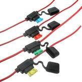 Amplificatore per Auto 10 15 20 30A in Lama Filo Porta Fusibile