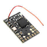 DasMikro Das87 FLYSKY Nano 7CH Receiver Integrated 2 Mixed Bi-directional ESC for Tank Type