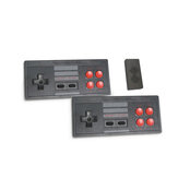 Mini 8 Bit FC Game Console Built-in 620 Games HD TV Video Game Console Stick Retro TV Console Box 2.4G Wireless Controller