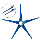 Biru Nylon Fiber Wind Blade Windmill 600MM 650MM Tools Kit Untuk Turbin Angin Generator