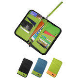 BUBM THZ-SL Travel Passport Holder Documents Organizer Money ID Card Cover Wallet Cash Pouch