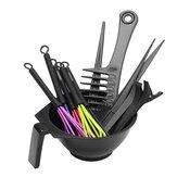 13Pcs DIY Salon Capelli Kit di tintura da colorare Color Dye Pennello Set di strumenti per tinta della ciotola del pettine