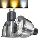 GU10 3W Ultra Bright LED COB Pure White Warm White Spot Light Bulb AC85-265V