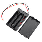 3 Slots AAA Battery Box Battery Holder Board with Switch for 3 x AAA Batteries DIY kit Case