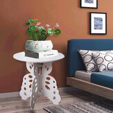 Modern Simple Round Coffee Tea Table 3-legged Design Stable Easy to Assemble Side Table