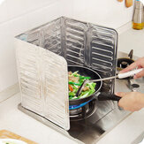 Aluminum Foil Oil Block Oil Barrier Stove Cooking Heat Insulation Anti-Splashing Oil Baffle Kitchen Utensils Supplies