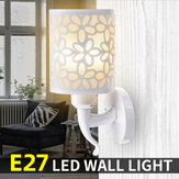 E27 Modern Flower Wall Lamp Bedroom Light Sconce Stair Lighting Fixtures with LED Bulb AC85-265V