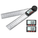 360 Degree Stainless Steel Digital Protractor 200/300mm Angle Ruler Angle Finder Meter Goniometer Inclinometer