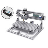 3018 3 Axis Mini DIY CNC Router w/ 2500mW Laser Module Wood Engraving Cutting Milling Engraver Machine