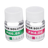 2Pcs 25ml PH 4.00/6.86 Meter PH Buffer Calibration Kit Buffer Solution Potassium Chloride