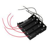 DIY 4-slotowy uchwyt baterii 18650 z 8 odprowadzeniami
