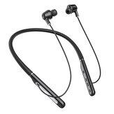 BlitzWolf® BW-ANC2 bluetooth 5.0 fone de ouvido Active fone de ouvido com redução de ruído pescoço pendurado fone de ouvido impermeável esportivo com microfone