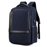 Tas Laptop 18 Inch Mens USB Pengisian Ransel Tahan Air Multifungsi Tas Travel Bagpack Tas Bahu pria Tas Sekolah B00120