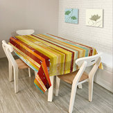 Asie du sud-est Rural Home Decor Colorful Lattice Rétro Motif Table Nappe Dîner Nappe