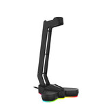 FANTECH AC3001S RGB Light-emitting Headphone Stand Headset Hook Holder Display Rack Storage Tools Anti-slip Aggravating Base