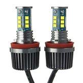 H8 30w 2200lm 7000k LED ampoule auréole ange oeil caché au xénon blanc pour BMW