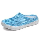 Resbalón casual en los zapatos planos ligeros transpirables Playa
