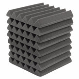 8pcs 305x305x45mm carreaux de mousse insonorisants insonorisants