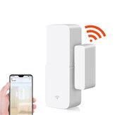 Управление приложением Wi-Fi Умная дверь Датчик Работа с детекторами открытия закрытых дверей Tuya Уведомление об уведомлениях WiFi Предупрежд