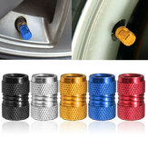 Aluminum Tire Stem Cap Rim Valve Wheel Vehicle Air Port Dust Cover