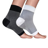 Mumian 1 Pair Nylon Ankle Support Anti Fatigue Compression Foot Sleeve Breathable Gym Ankle Guard Fitness Protective Gear