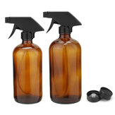 250/500ML Amber Glass Spray Bottles Sprayer Trigger